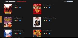 Capture d'écran après une requête sur movielike.fr