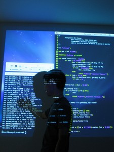 Code on the wall | Nat Welch