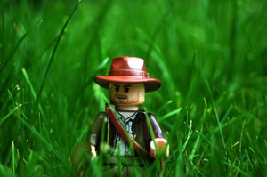 LEGO Indiana Jones in Grass | Rob Young